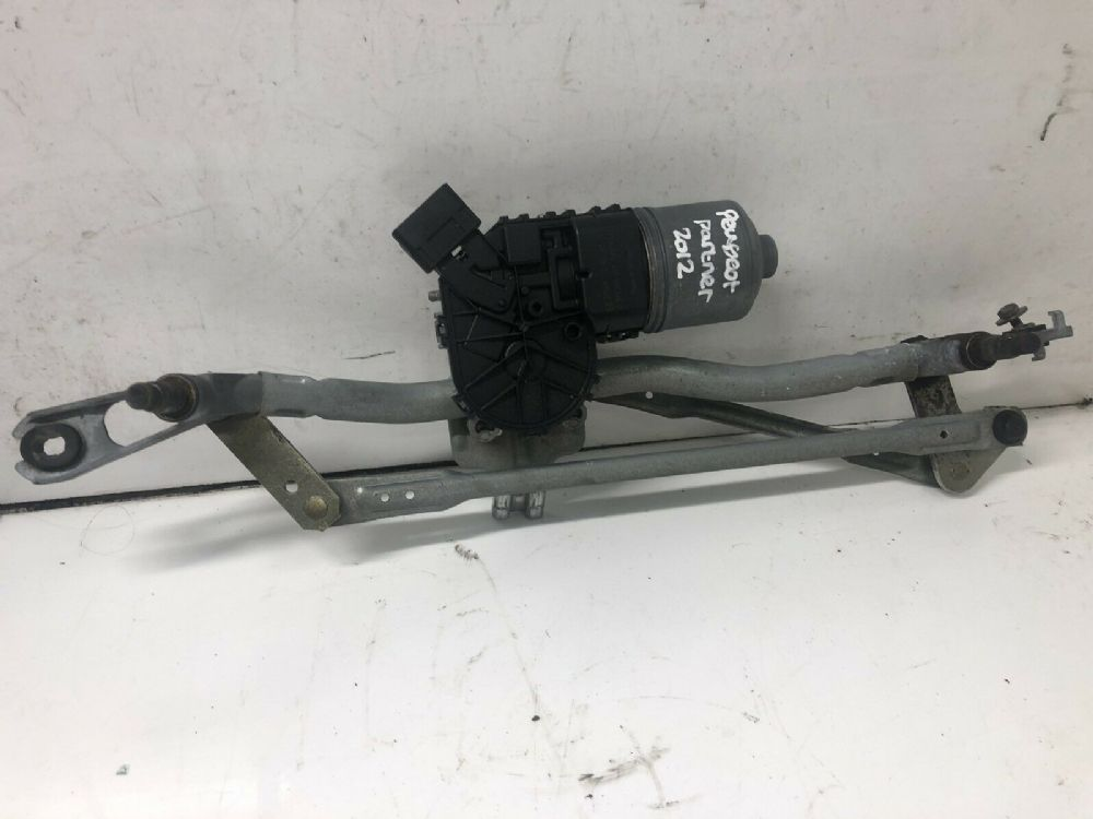 08-14 Peugeot Partner Front Wiper Motor Mechanism Linkage 0390241621 3397020955